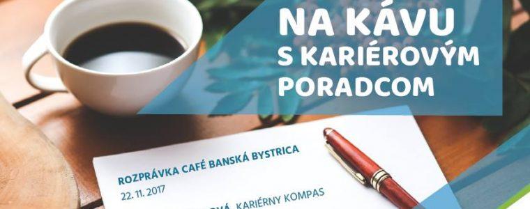Na kávu s kariérovým poradcom v Banskej Bystrici